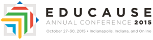 EDUCAUSE 2015 annual conference logo